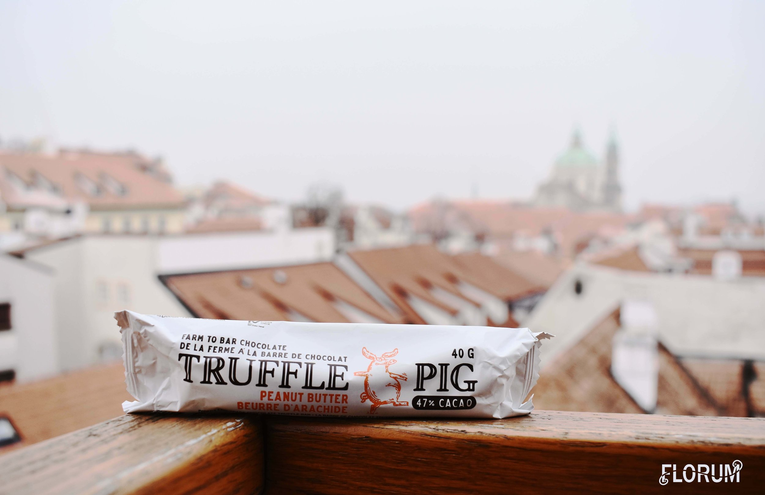 The final treat in the COMFORT box from Ellebox was the direct trade, farm to bar Truffle Pig chocolate bar. Because who doesn't need a reason to eat chocolate?