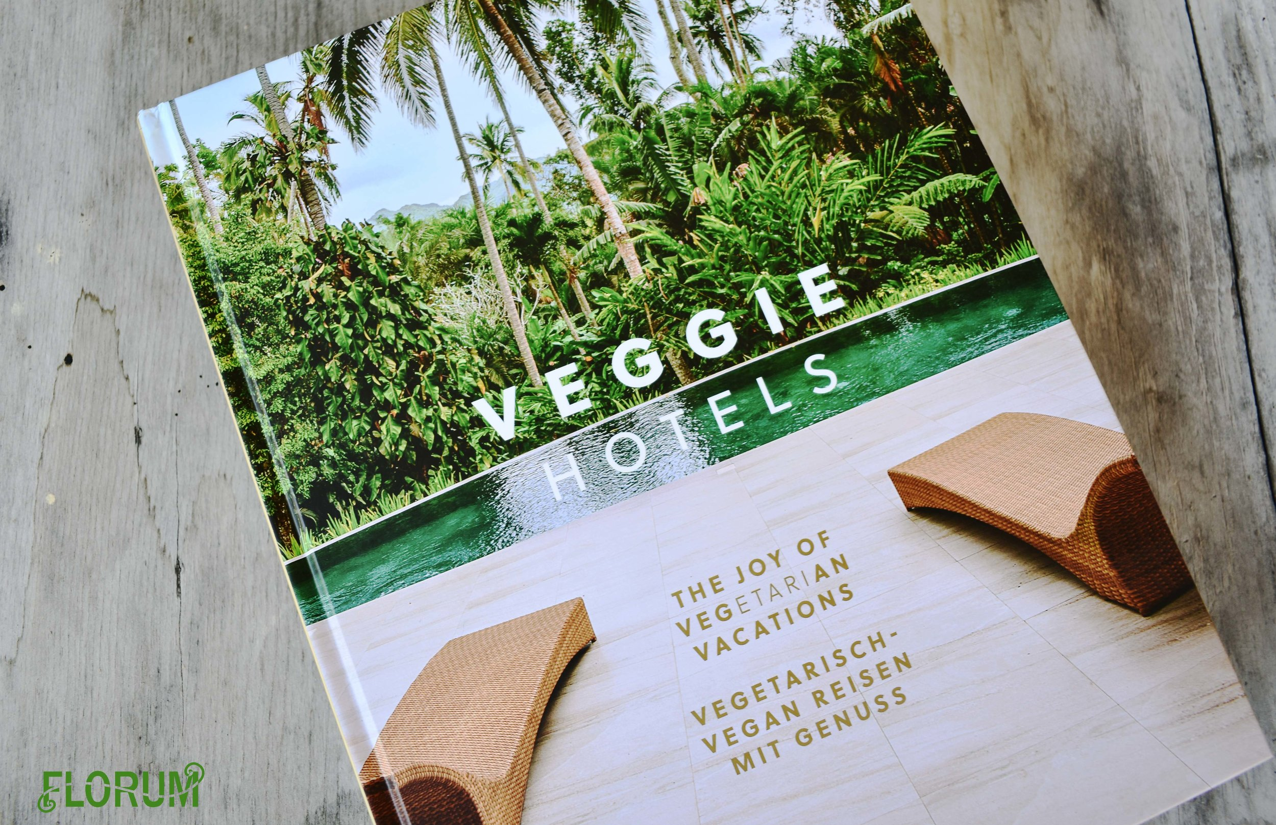 During my tour of the Park Lane Guest House, I saw this book 'Veggie Hotels' and was immediately drawn to it.  Not only has  Park Lane Guest House been featured in this book, but this little vegetarian bed and breakfast  was one of the first in the United States to be featured on their  website .