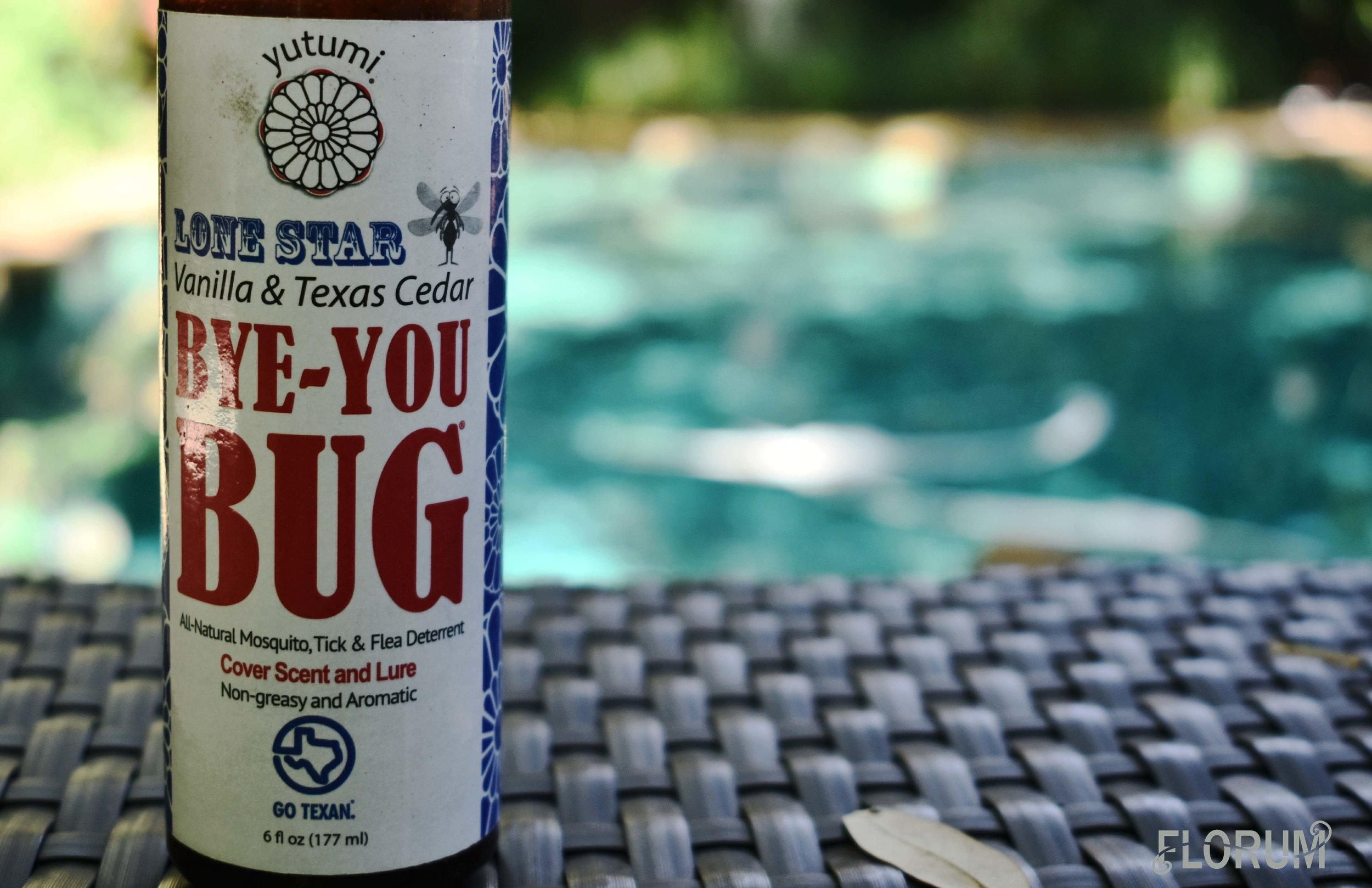 Austin, Texas unfortunately has mosquitos, however I wasn't bit once, since this natural non toxic mosquito repellent was provided by the Park Lane Guest House and left by the pool for guests to use. I loved that the brand Bye You Bug is also Made in Texas, and smelled amazing.