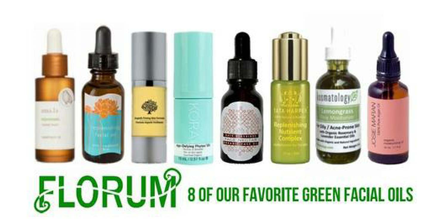 Check out our Florum's founder and Editor in Chief Noelle Lynne's favorite 8 green facial oils from December 2016  HERE