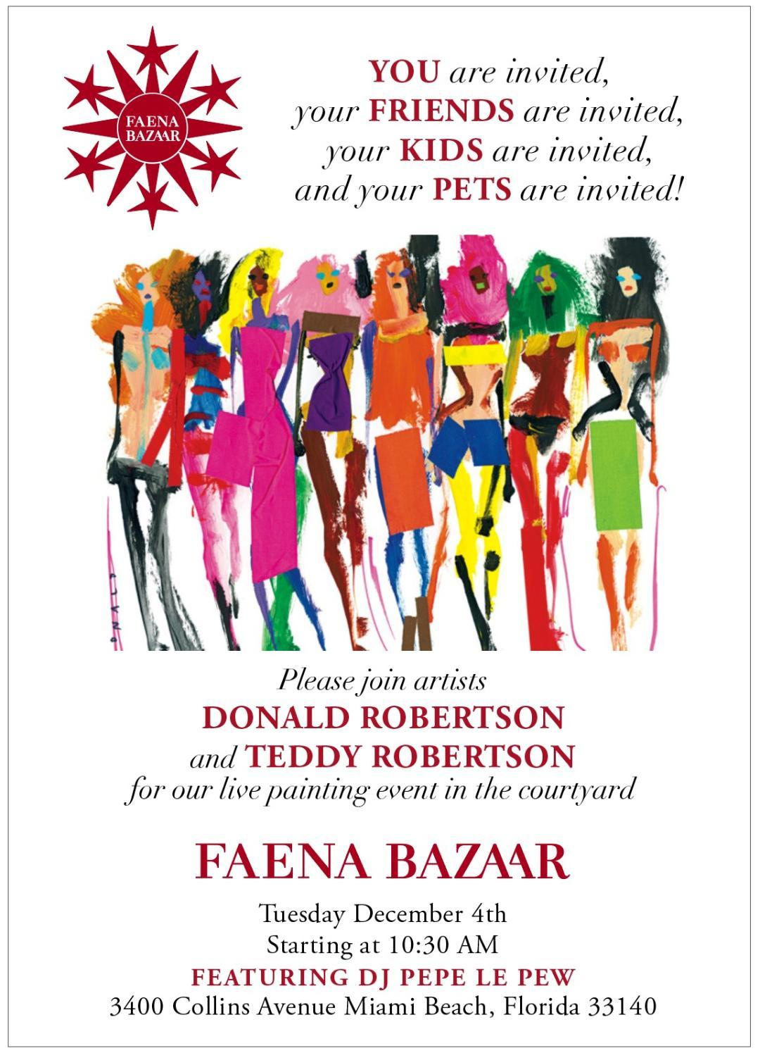 donald robertson and teddy robertson - faena bazaar - florum fashion magazine - live oil painting.png