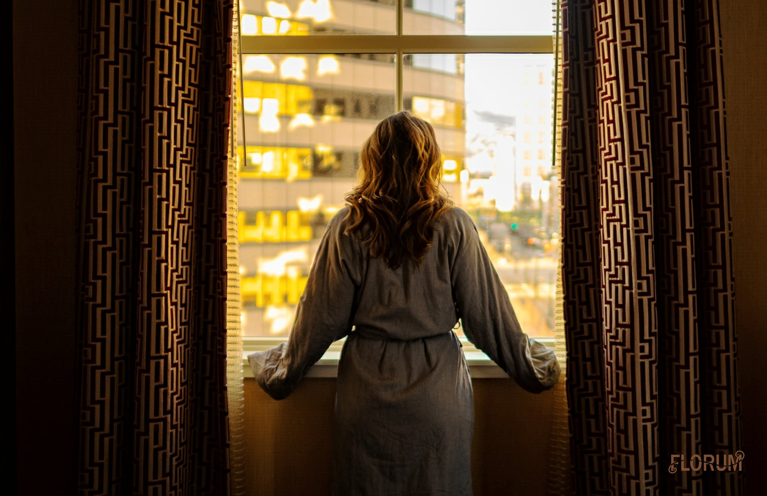One of my absolute favorite things about staying in a hotel is the plush robes that are often provided, and I must say that Hotel Monaco Salt Lake City did not disappoint. The view of the mountains and the downtown Salt Lake City made lounging in the robe even more relaxing,.