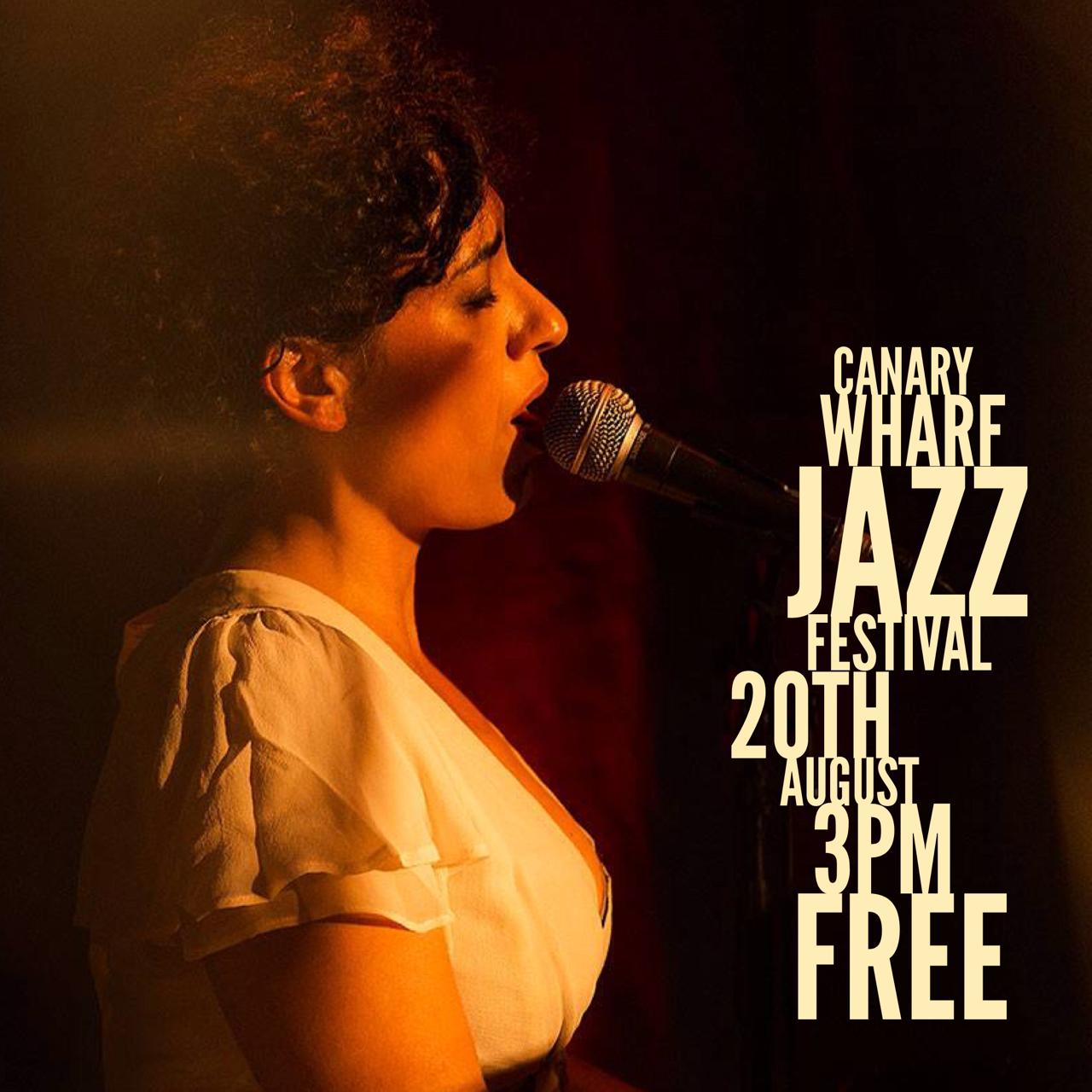 #CanaryWharf #Jazz #Festival #singer #singersongwriter #JuliaBiel