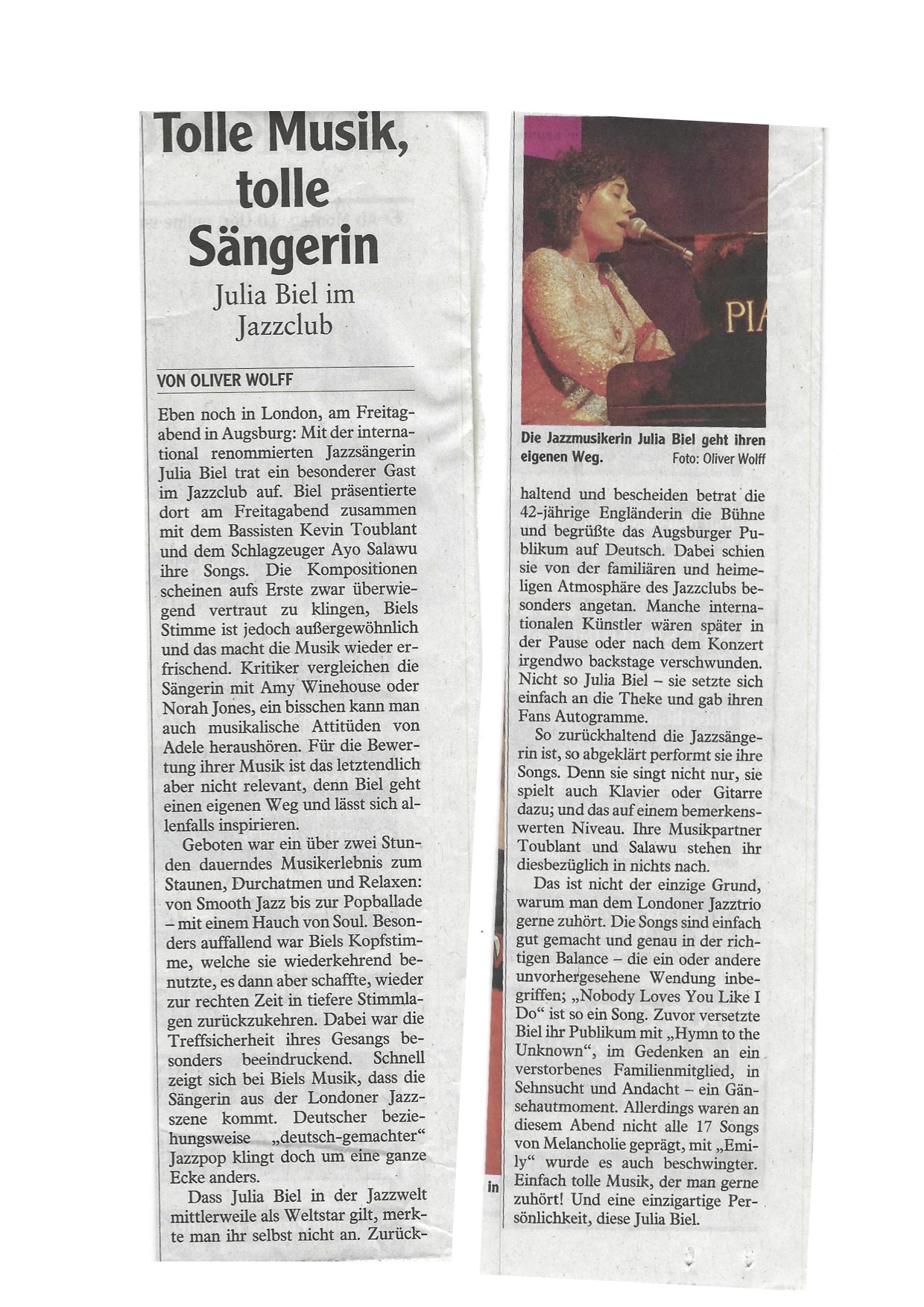 Julia Biel live review - Augsburger Allgemeine (15.02.2019) copy.jpg