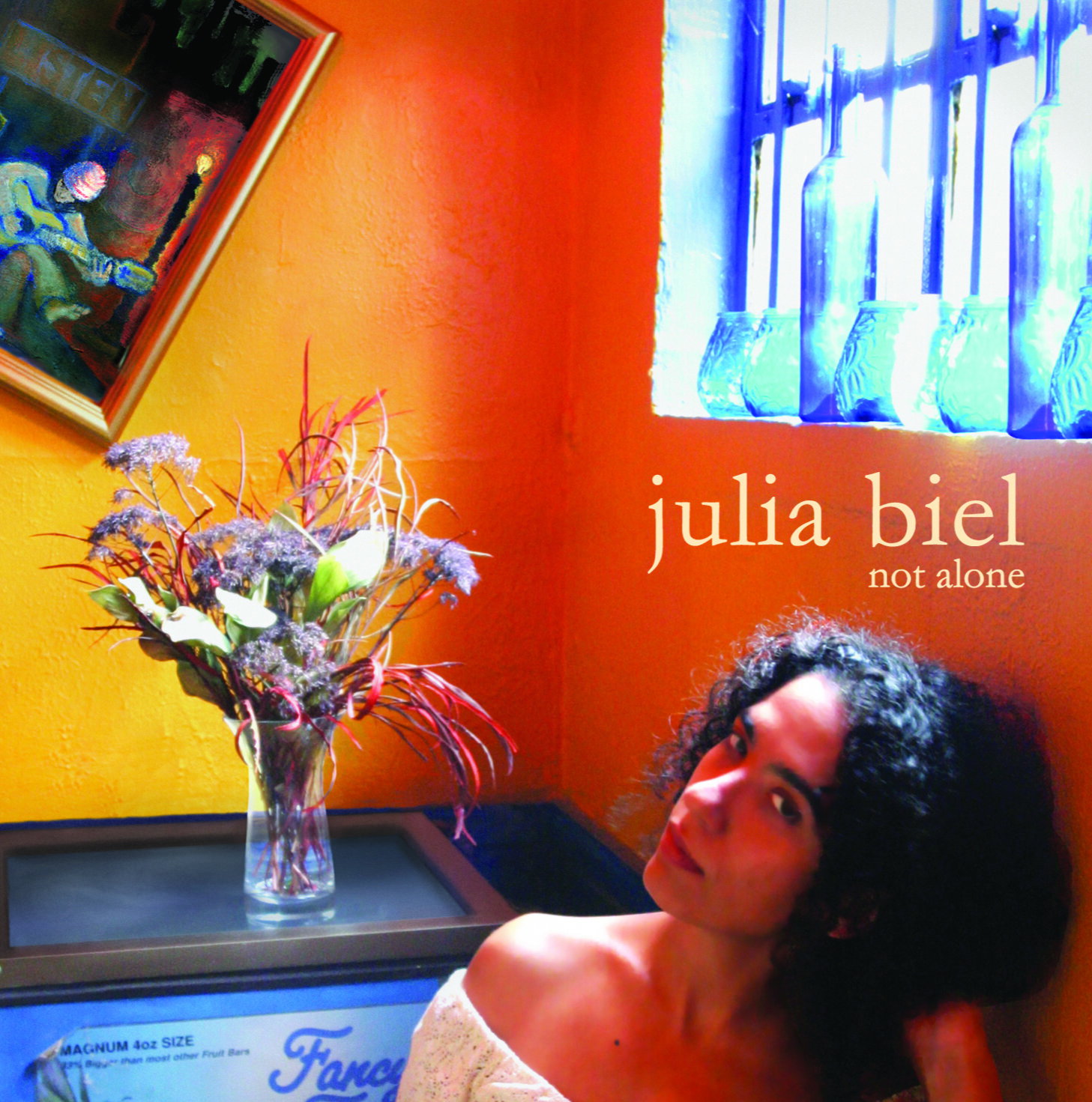 Not Alone, Julia Biel  album cover.jpg