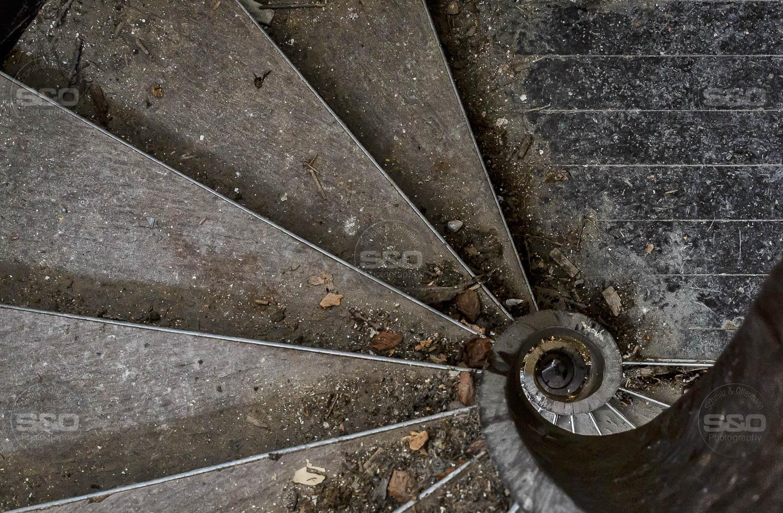 Urbex : The R castle spiral / La spirale du château R