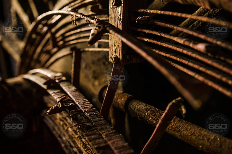 Urbex : Rotten engine / Moteur à remplacer