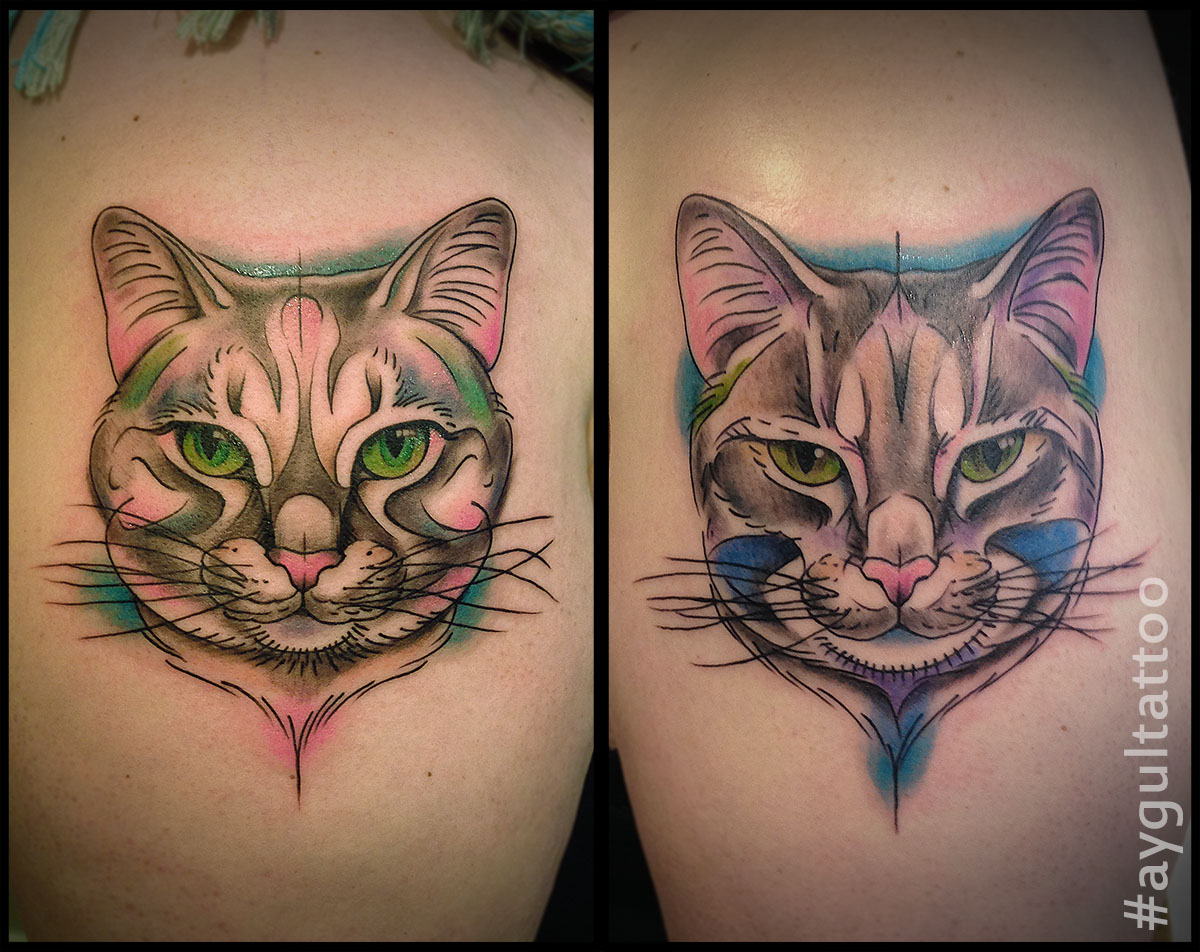 #cats #color #aygultattoo
