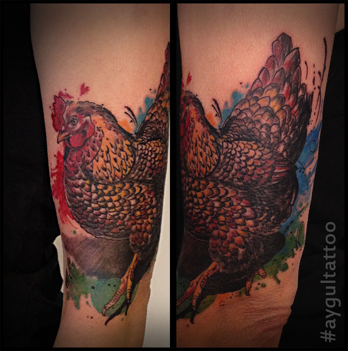 #chicken #color #aygultattoo