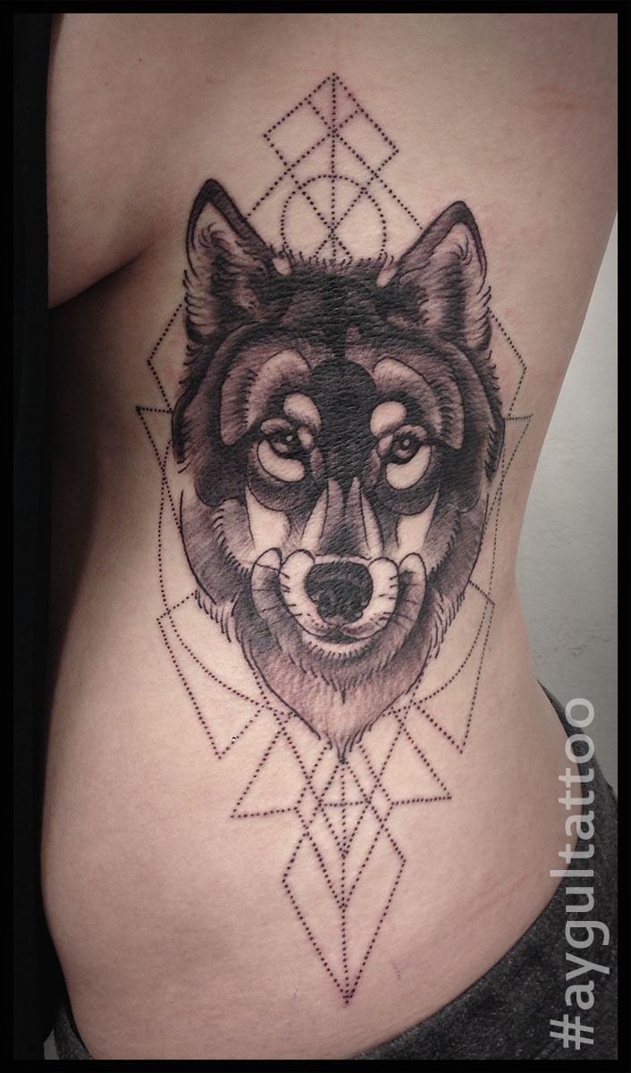 #wolf #geometry #aygultattoo