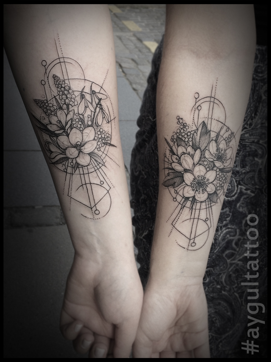 #anemone #flowers #sketchy #aygultattoo