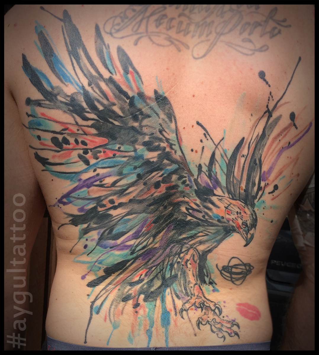 #eagle #watercolor #aygultattoo