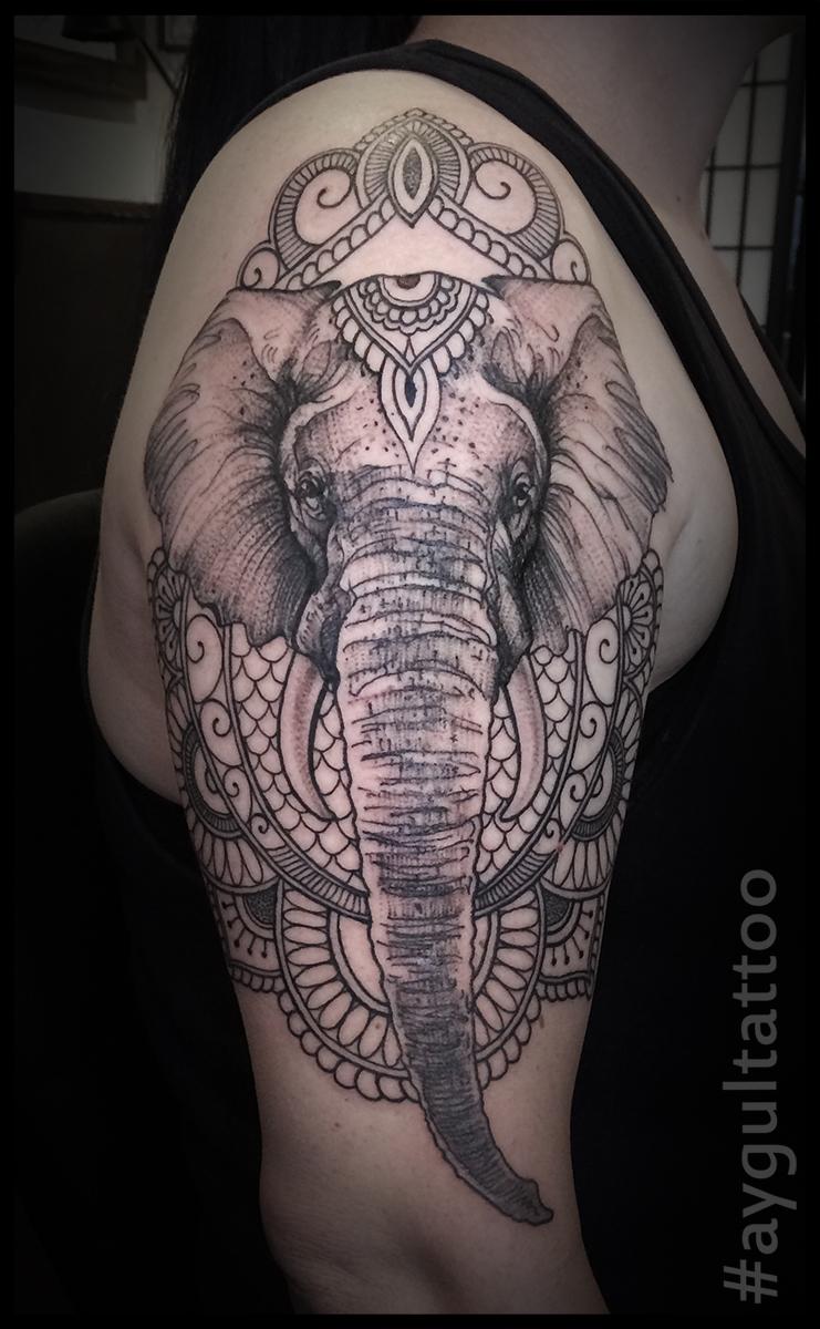 #elephant #sketchy #aygultattoo