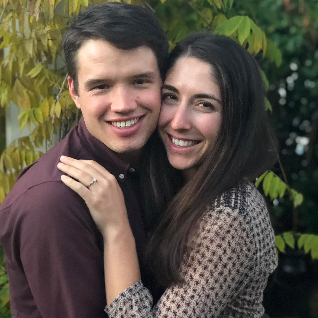 JAM Fund/NCC teammates Tim Willis and Natalie Tapias announced their engagement in November. Photo by Maria Tapias.