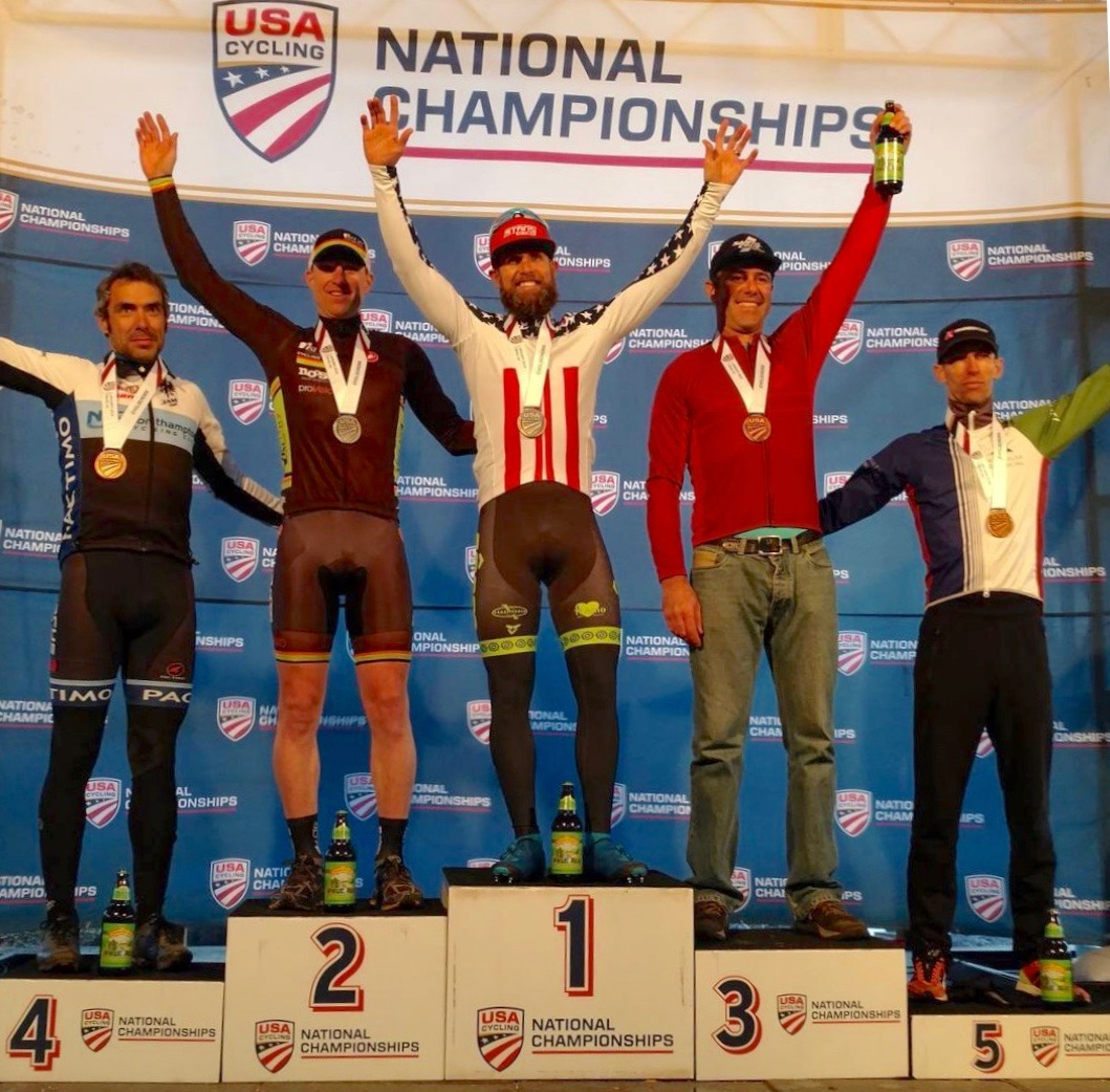 The second podium of the week for JAM Fund: Coach Al Donahue finished fourth in the 40-44 national championship race.
