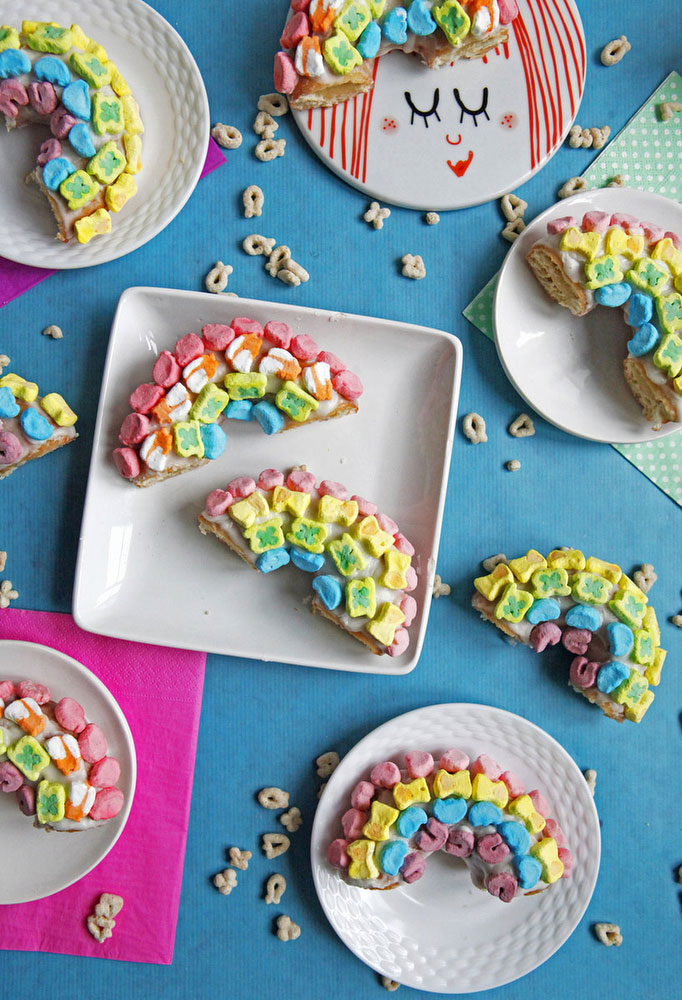 Lucky Charms Donuts | Katie Currid