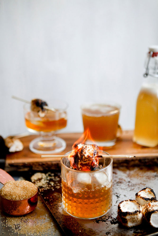 Campfire cocktail | Katie Currid