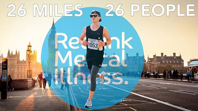 I'm running the London Marathon this year for Rethink Mental Illness. I want to find 26 different people from around the world that have suffered from a form of mental illness to run each individual mile for. This will form part of a small documentary I put on YouTube.  You will need to be on camera & willing to share part of your story if you would like to be a part of it. I would love to hear from anyone that might be interested. Feel free to send me a message on here, via email or Facebook.  I am also raising money for Rethink Mental Illness via Virgin Money Giving if you search for my name on the website.  if you know anyone that might be interested in being a part of this please share it with them.  For more info click the YouTube video link in my bio 🙂🙏 . . . . . . #filmmaker #videographer #video  #videos #videoproduction #adventure #creative #create #photography #photographer #photooftheday #world #filmmaker #filmphotography #youtube #youtubevideos #mentalhealth #mentalhealthawareness #london #londonmarathon2019 #mentalillness
