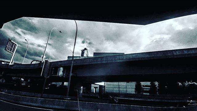 #boston #streetphotography #instablackandwhite #blackandwhite #loganairport #Massachusetts #moody