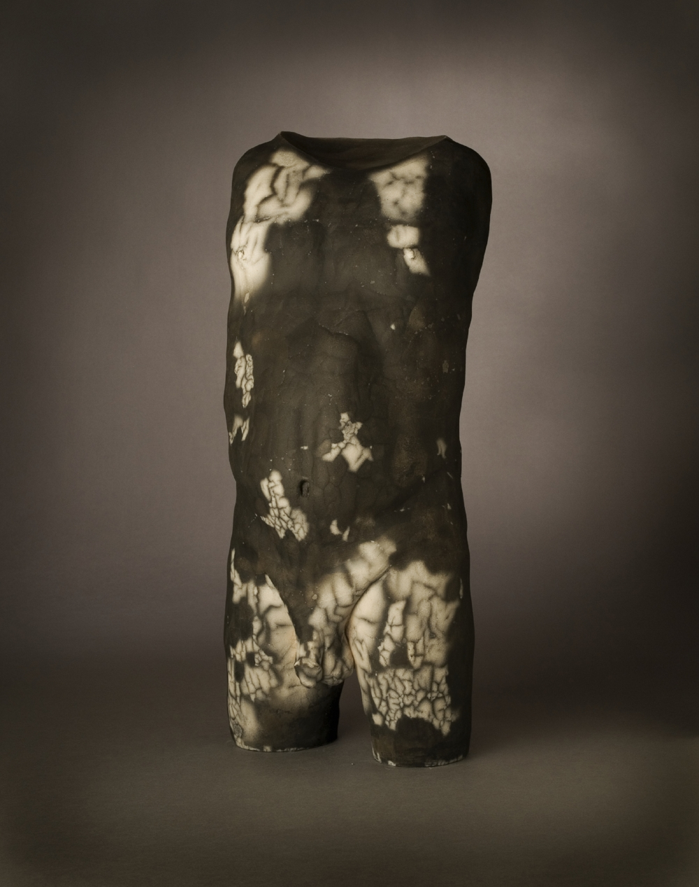 "A (Of Who Am I)   Chris Corson & Stuart Diekmeyer  Archival Inkjet Print of Raku-Fired Ceramic  30"" x 36""  $1250   Click to Inquire"