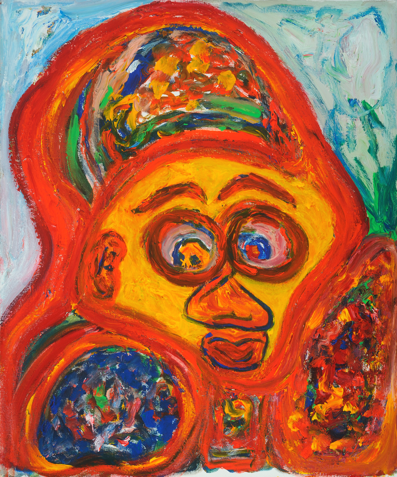 Part of the Gorilla Team   Acrylic on Canvas