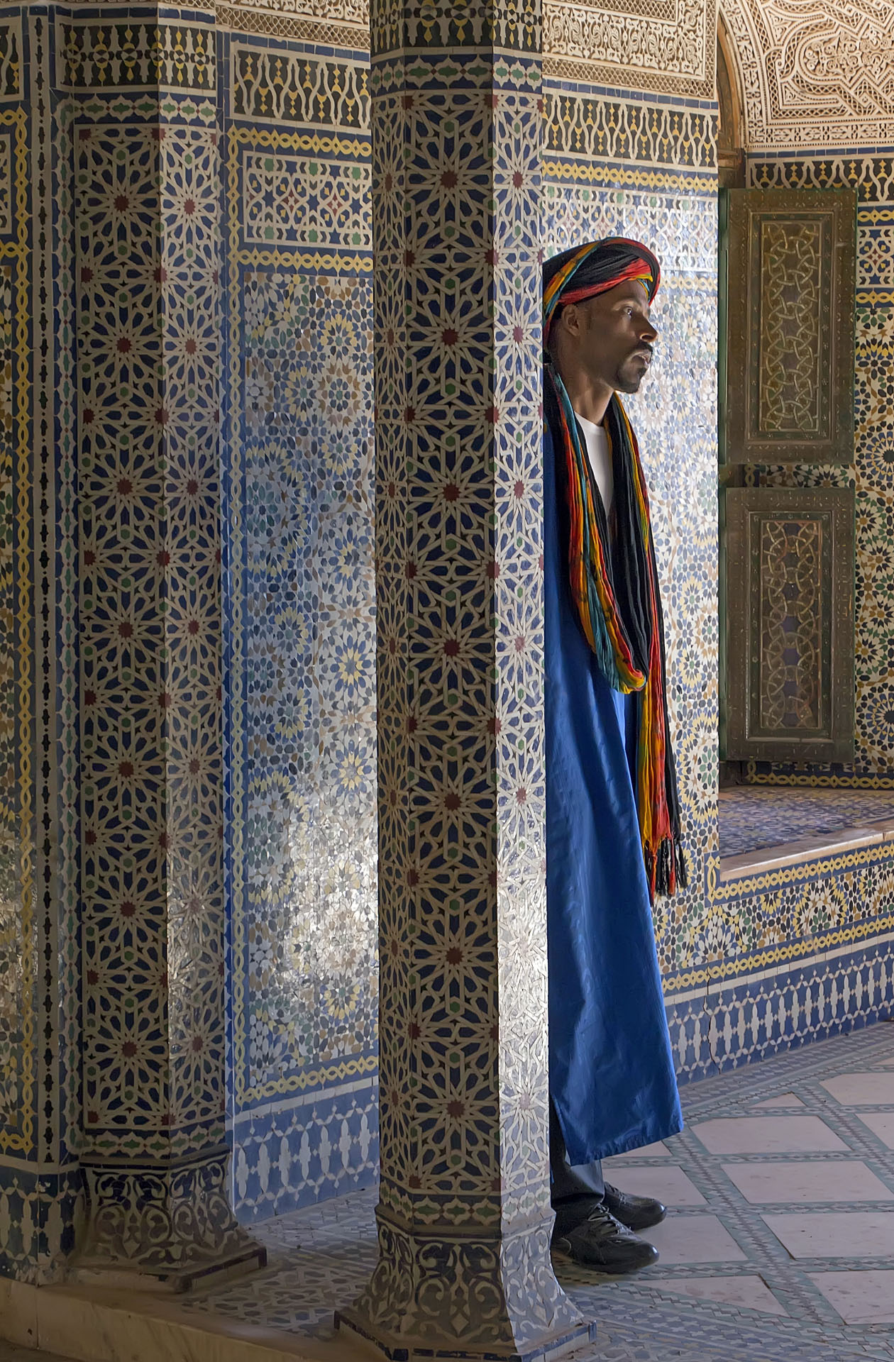 """Marrakesh, Morocco   Gary Anthes  Photograph  10.5"""" x 16"""" or 18"""" x 24"""" framed  $325   Click here to Inquire"""