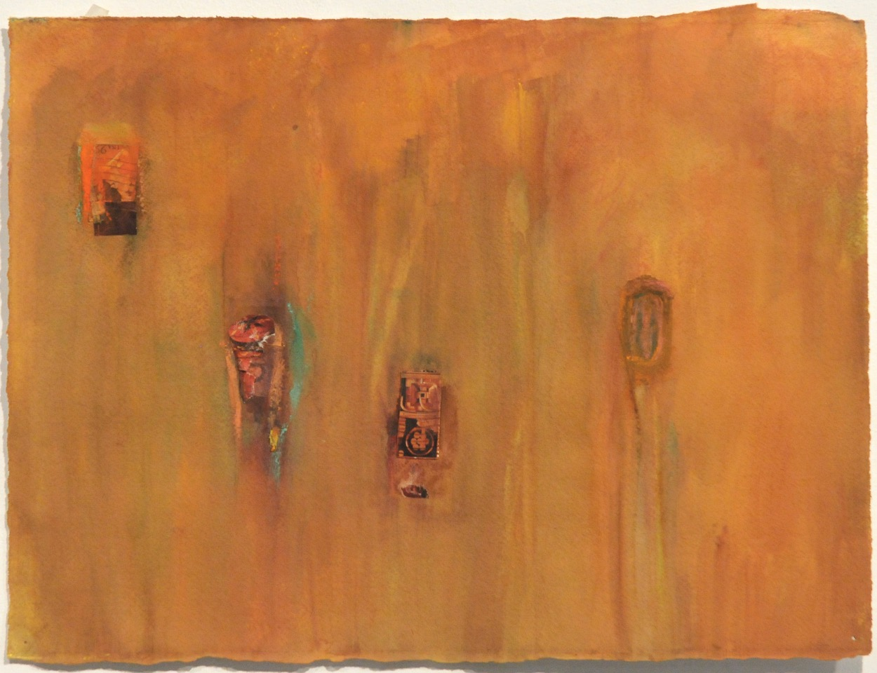 "Amber Mystery   Suzanne Goldberg  Watercolor  16"" x 20""  $650   Click here to Inquire"