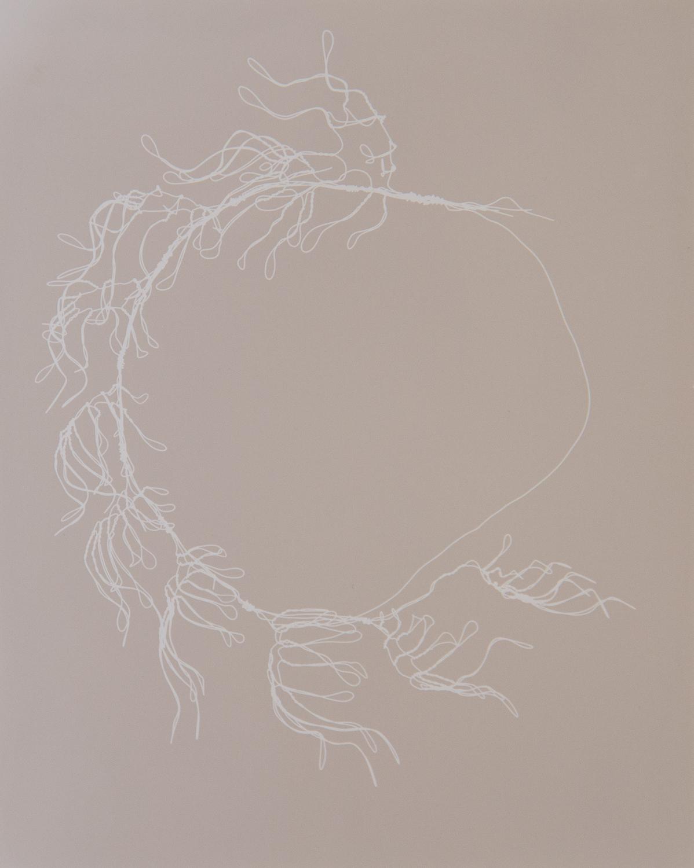 "Untitled   Julie Koehler  Photogram  10"" x 8""  Sold"