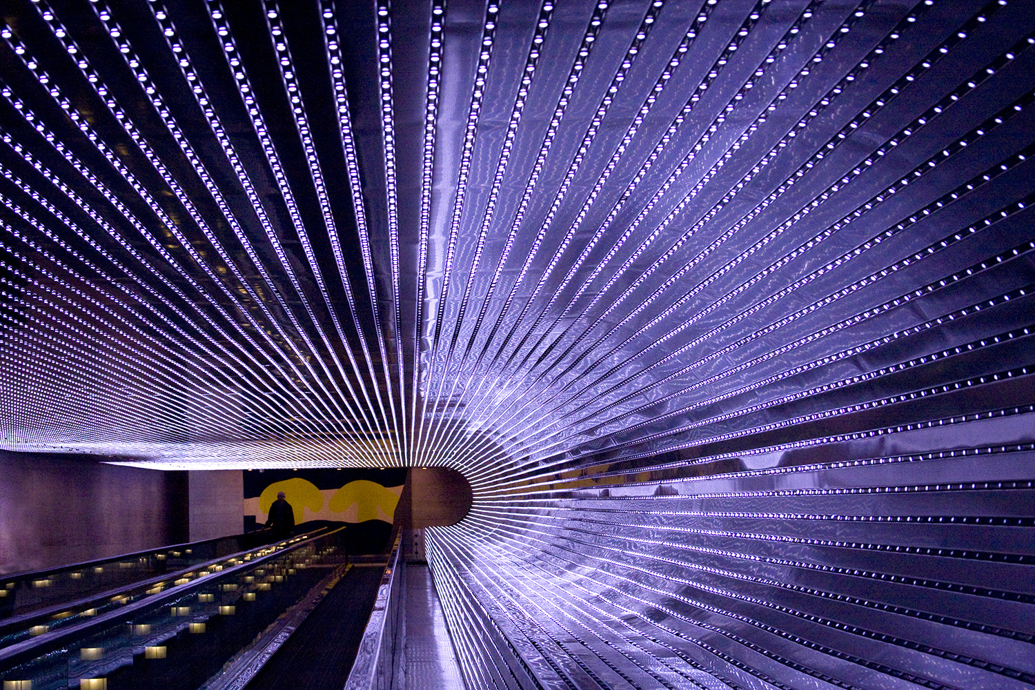 """Tunnel of Light II   Jo Levine  Archivally printed photograph  26"""" x 20""""  $400   Click to inquire"""