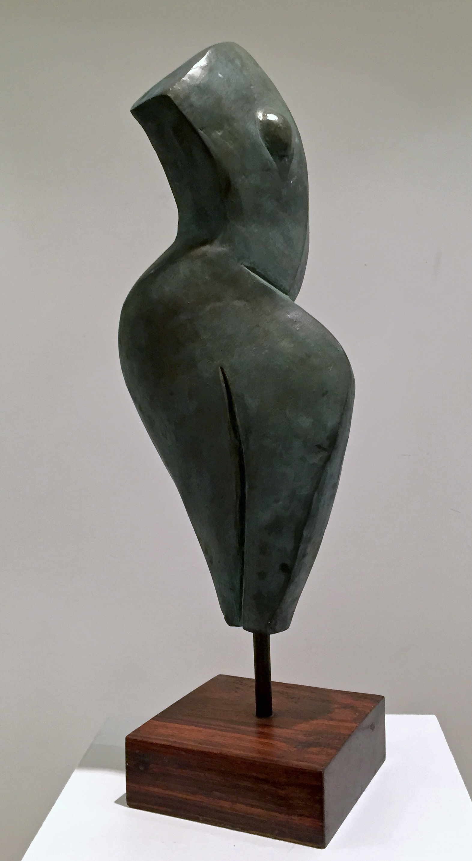 Grace I   Trish Palasik  Resin Cast with Brushed Patina  $900   Click here to inquire.
