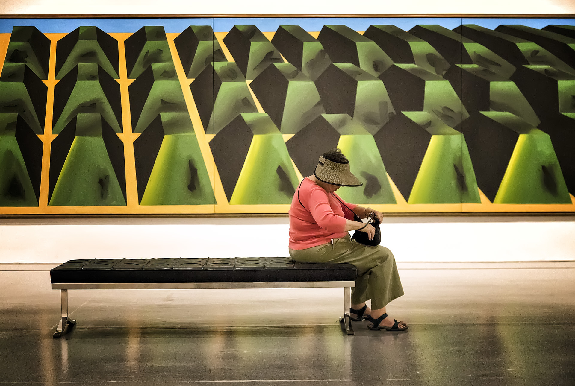 Hirshhorn Museum, July 2017   Gary Anthes  Archival Photograph  $300 (Framed)   Click here to inquire.