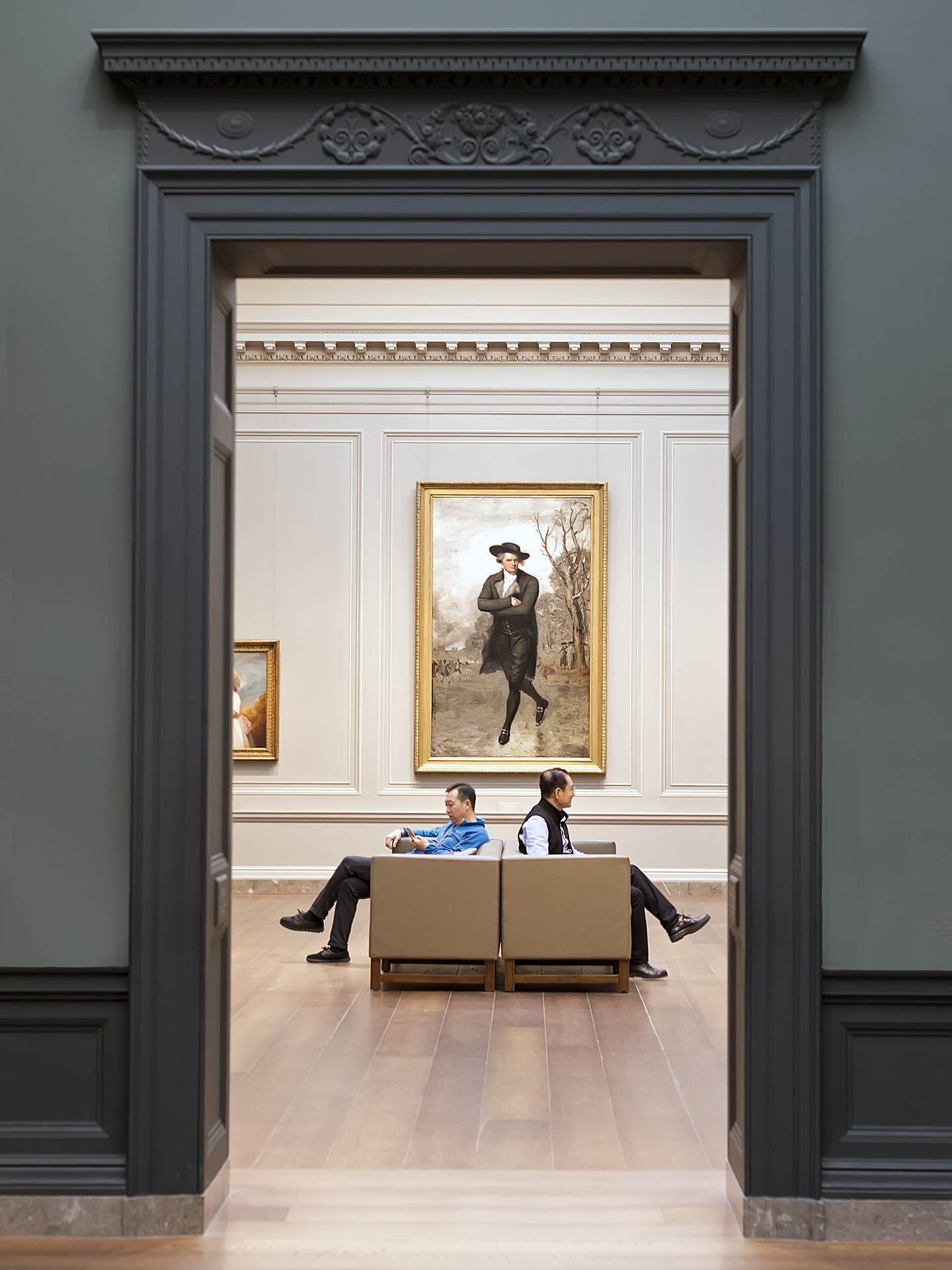 National Gallery of Art, December 2017   Gary Anthes  Archival Photograph  $300 (Framed)   Click here to inquire.