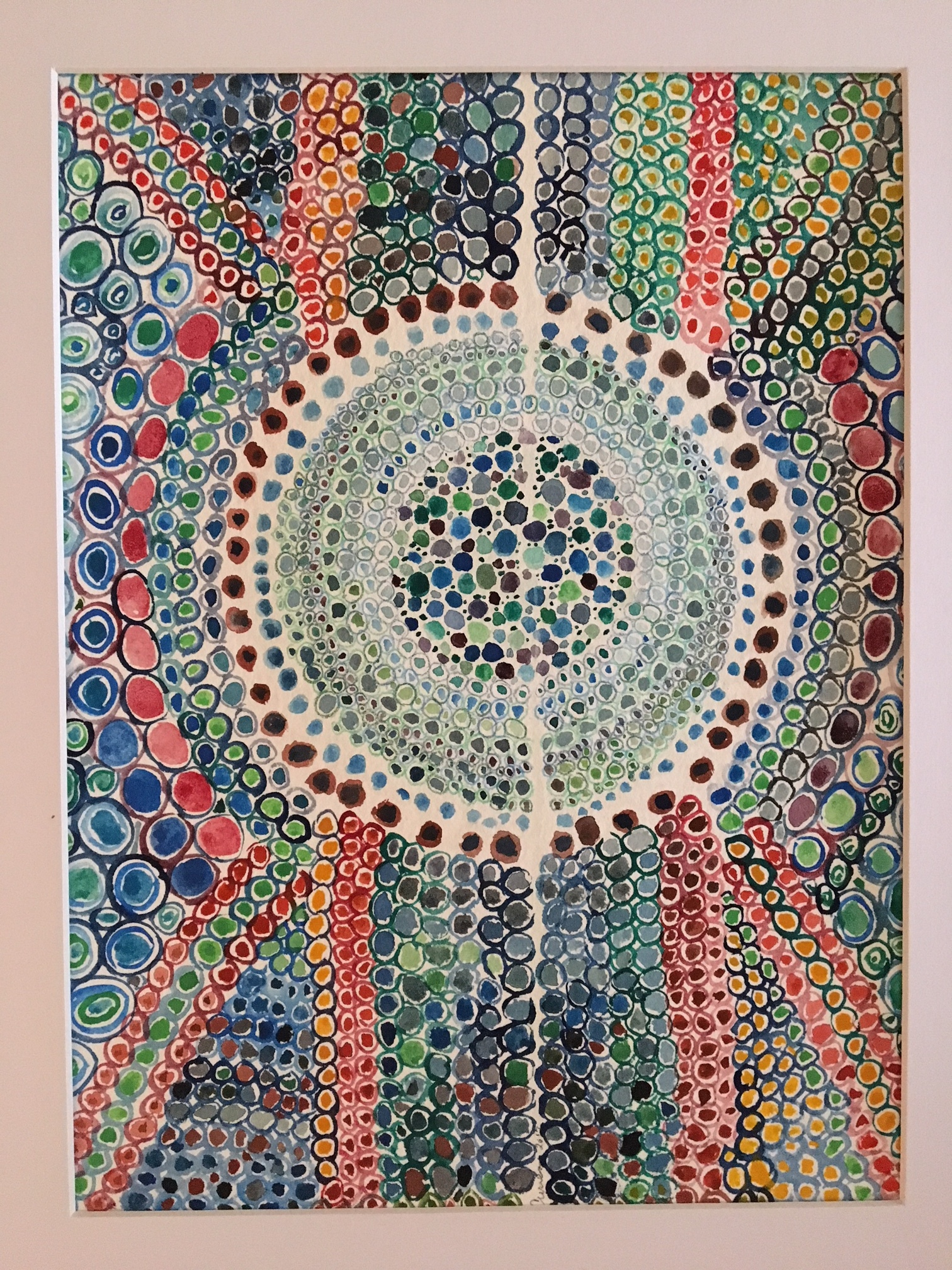 """Beth Curren   Watercolor on Paper  12"""" x 16"""" (Framed)  $300   Click here to Inquire"""