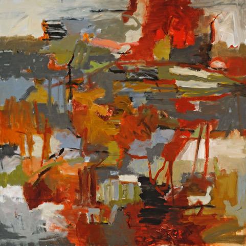 "Joyce McCarten   Oil  36x36""  $1,800   Click here to Inquire"