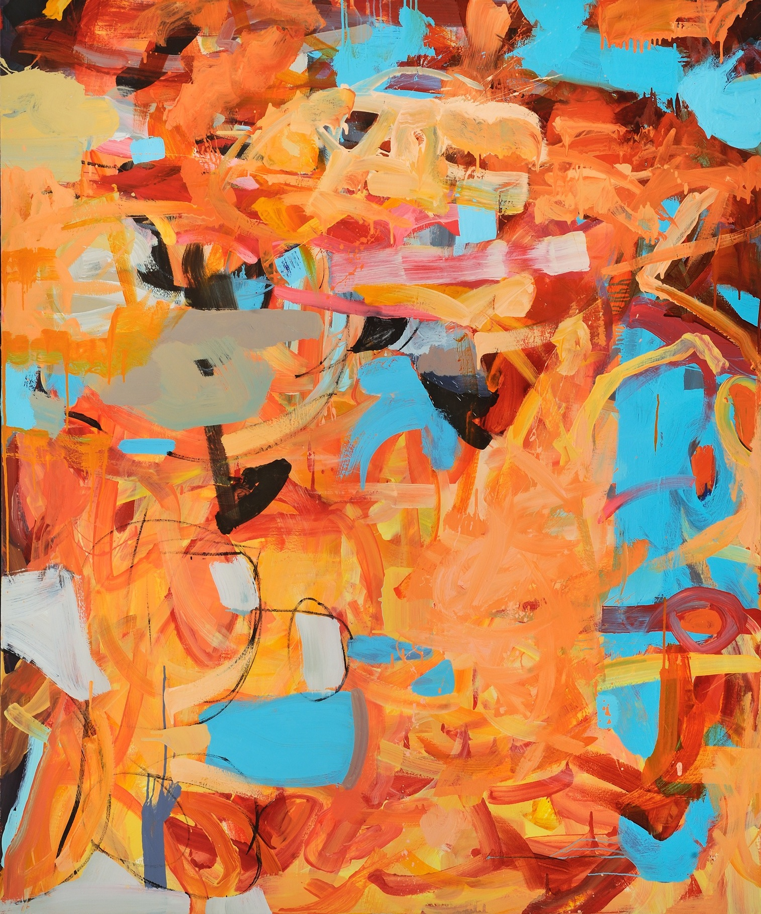 Sally Kauffman   Oil on canvas  62 x 50 inches  $4,000.00   Click here to Inquire