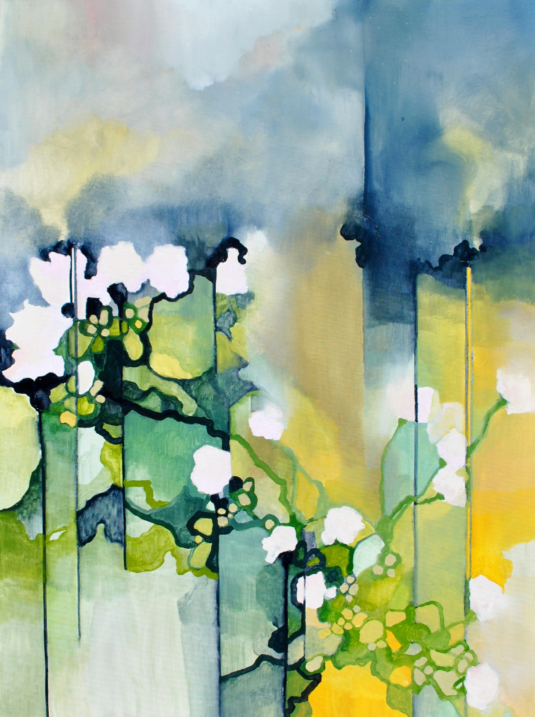 "Nicole Ida Fossi   Oil on canvas  30"" x 40""  SOLD"