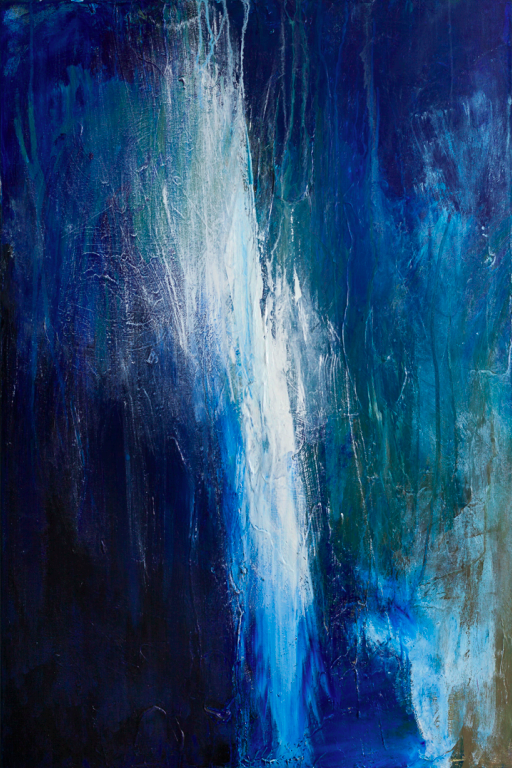 """Sacred Place   Acrylic on Canvas  36"""" x 24""""  $1500  Click image to enlarge.   Click here to inquire."""