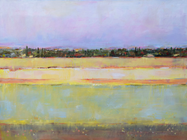 """Tuscany   Oil on canvas  31"""" x 41"""""""