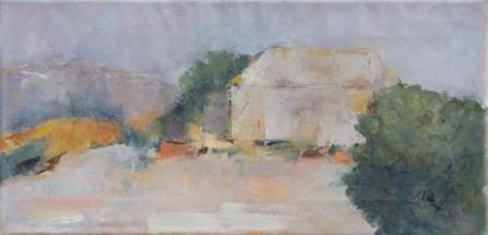 "Provenance III   Oil on canvas  15"" x 25"""