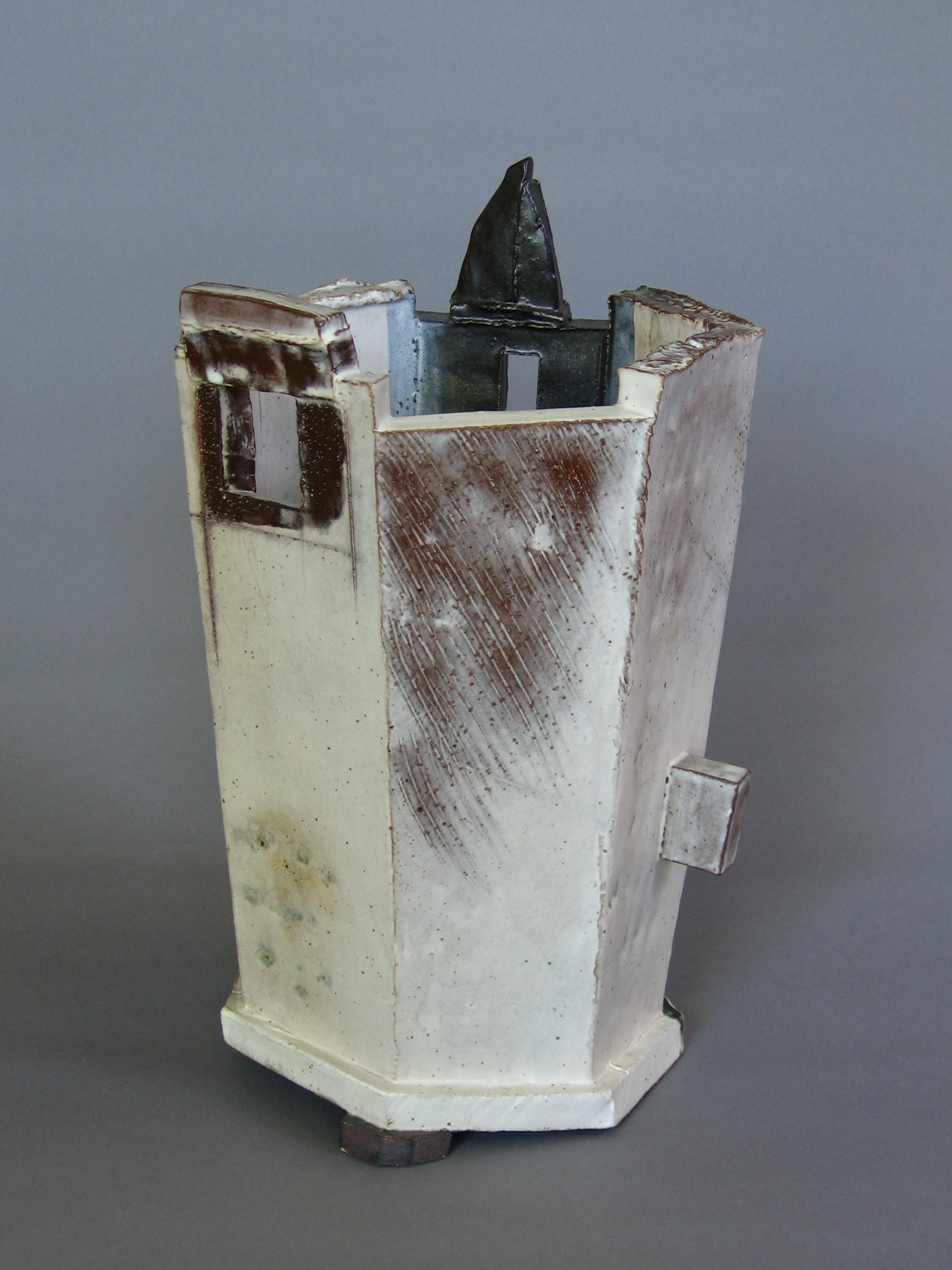 "Kübel 7 , 13"" x 8"" x 8"", Ceramic"