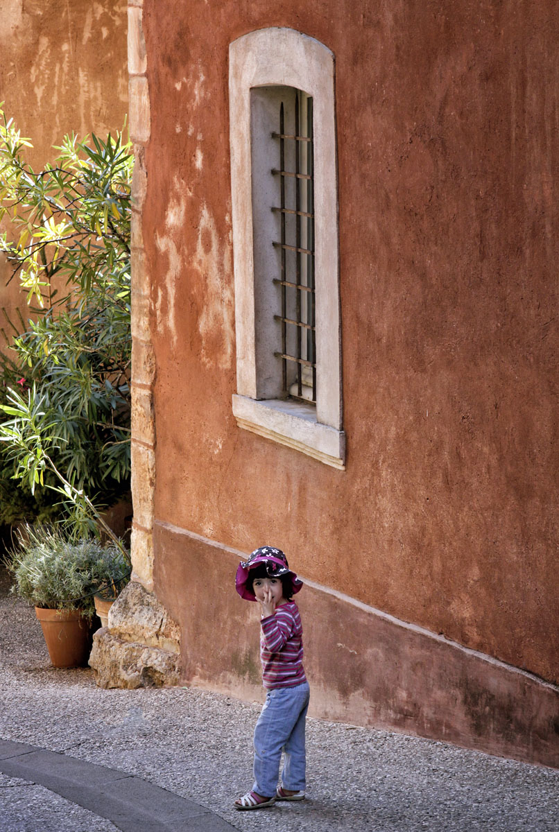 """Roussillon, France, September 2012   Archival pigment print  11.25"""" x 16.75""""  $300  Click image to enlarge   Inquire."""