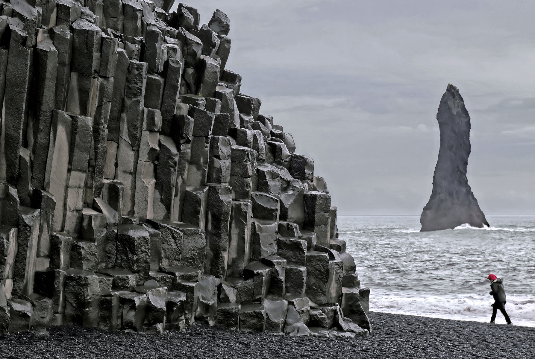 """Vik, Iceland, September 2014   Archival pigment print  11.25"""" x 16.75""""  $300  Click image to enlarge   Inquire."""