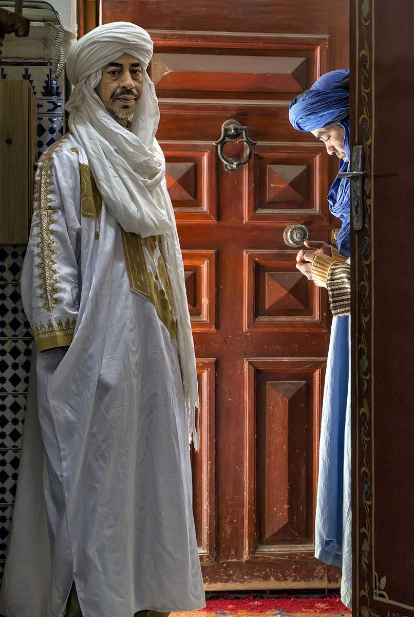 "Khamlia, Morocco, November 2016 No. 1   Archival pigment print  11.25"" x 16.75""  $300  Click image to enlarge   Inquire."