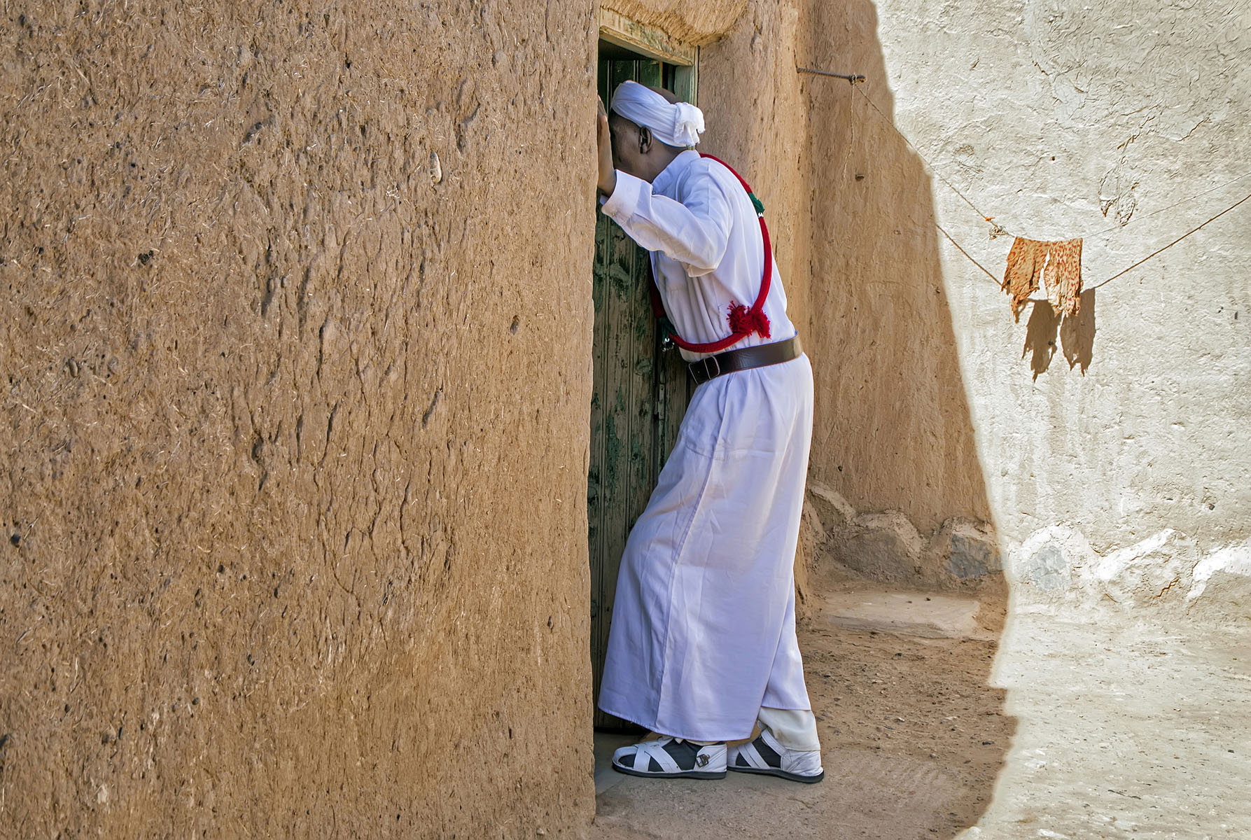 "Khamlia, Morocco, November 2016 No. 2   Archival pigment print  11.25"" x 16.75""  $300  Click image to enlarge   Inquire."