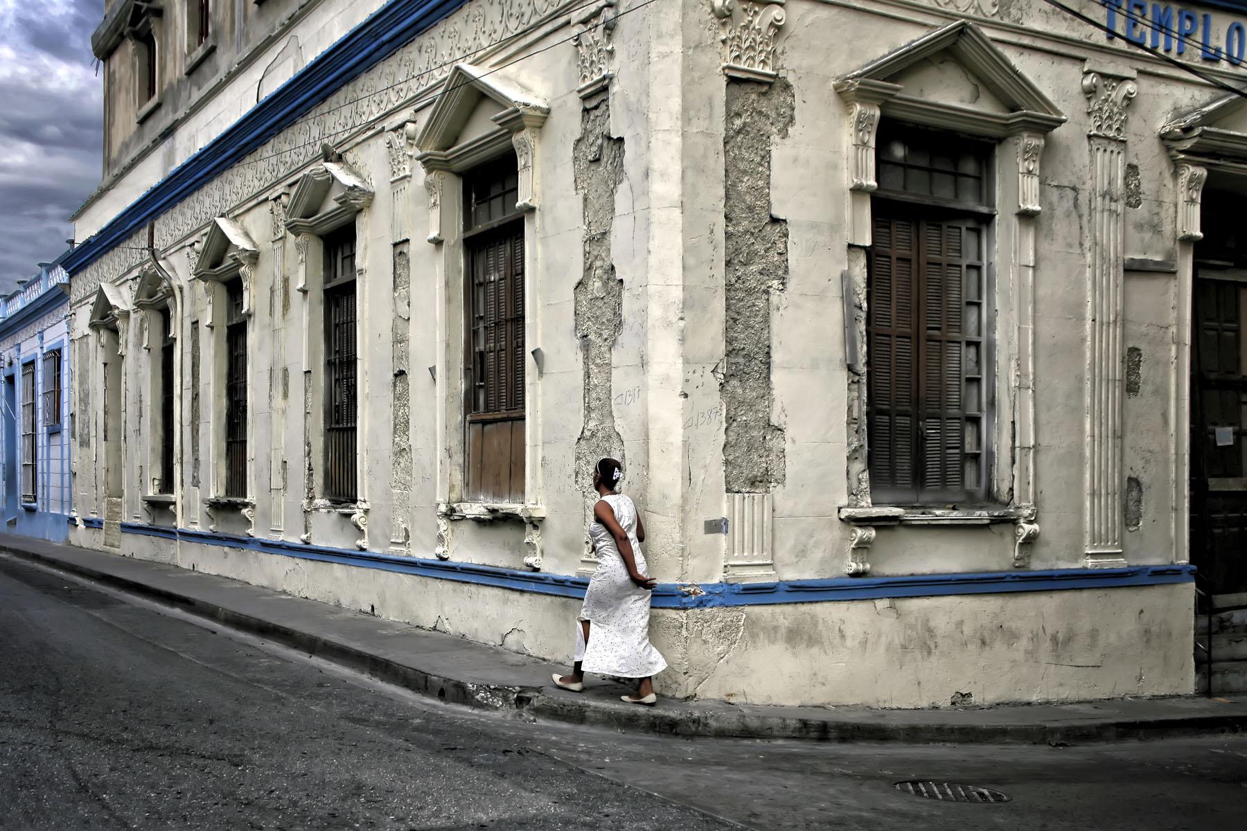"""Santiago de Cuba, February 2016 No. 1   Archival pigment print  11.25"""" x 16.75""""  $300  Click image to enlarge   Inquire."""