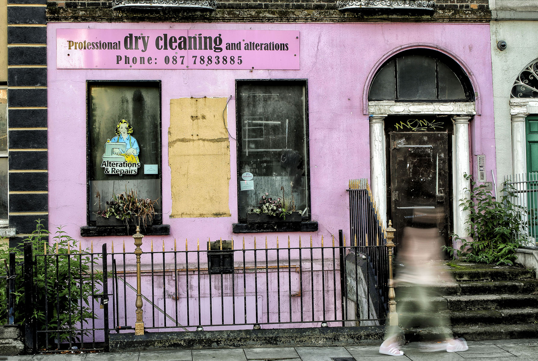 """Dublin, September 2016   Archival pigment print  11.25"""" x 16.75""""  $300  Click image to enlarge   Inquire."""