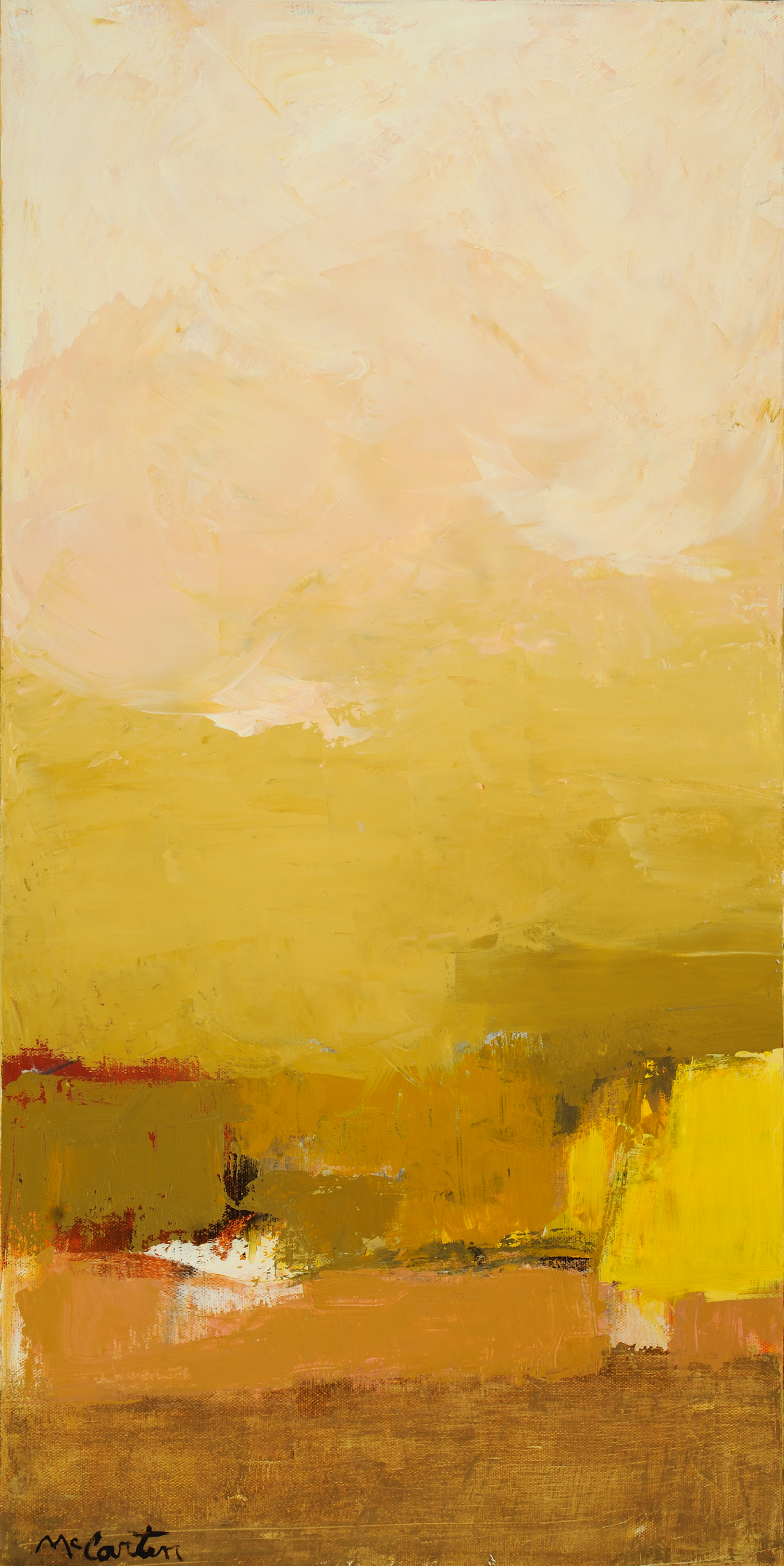"Moraccan Desert   Oil on canvas  15"" x 30""  2019  $1,200"