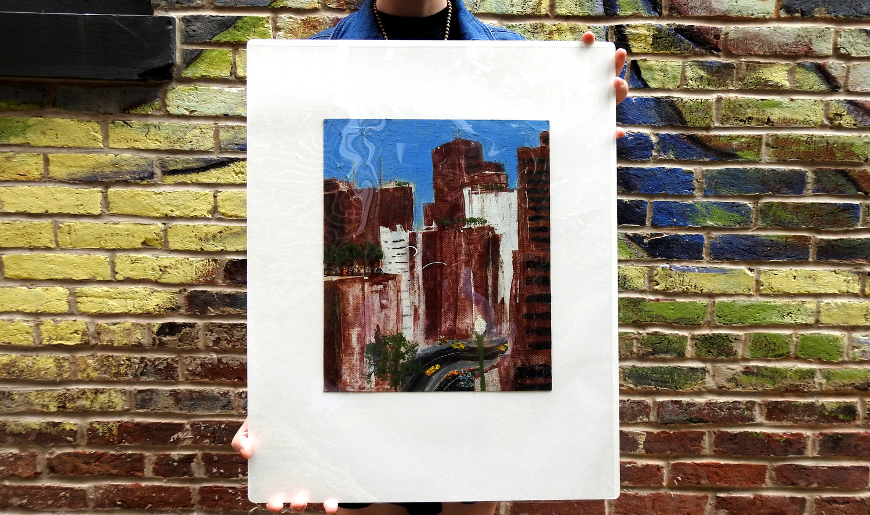 Urban Landscape   by Gordon Binder.