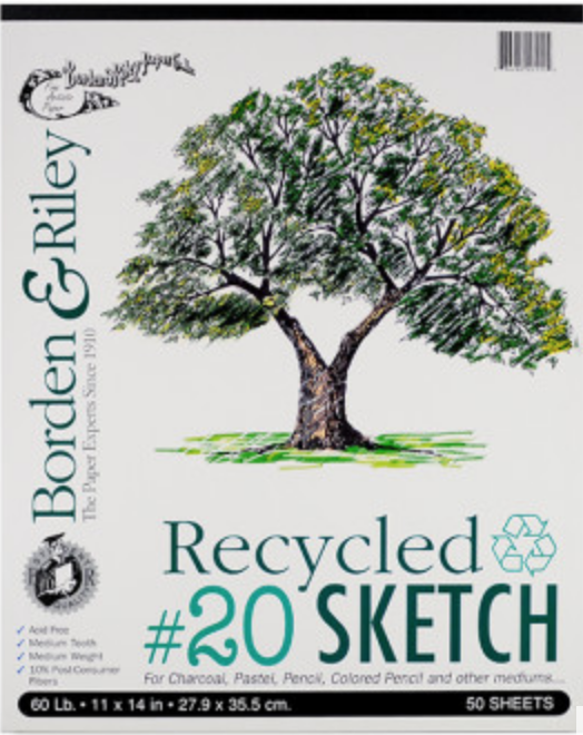 Check out this  recycled sketch pad  from Artist and Craftsman!