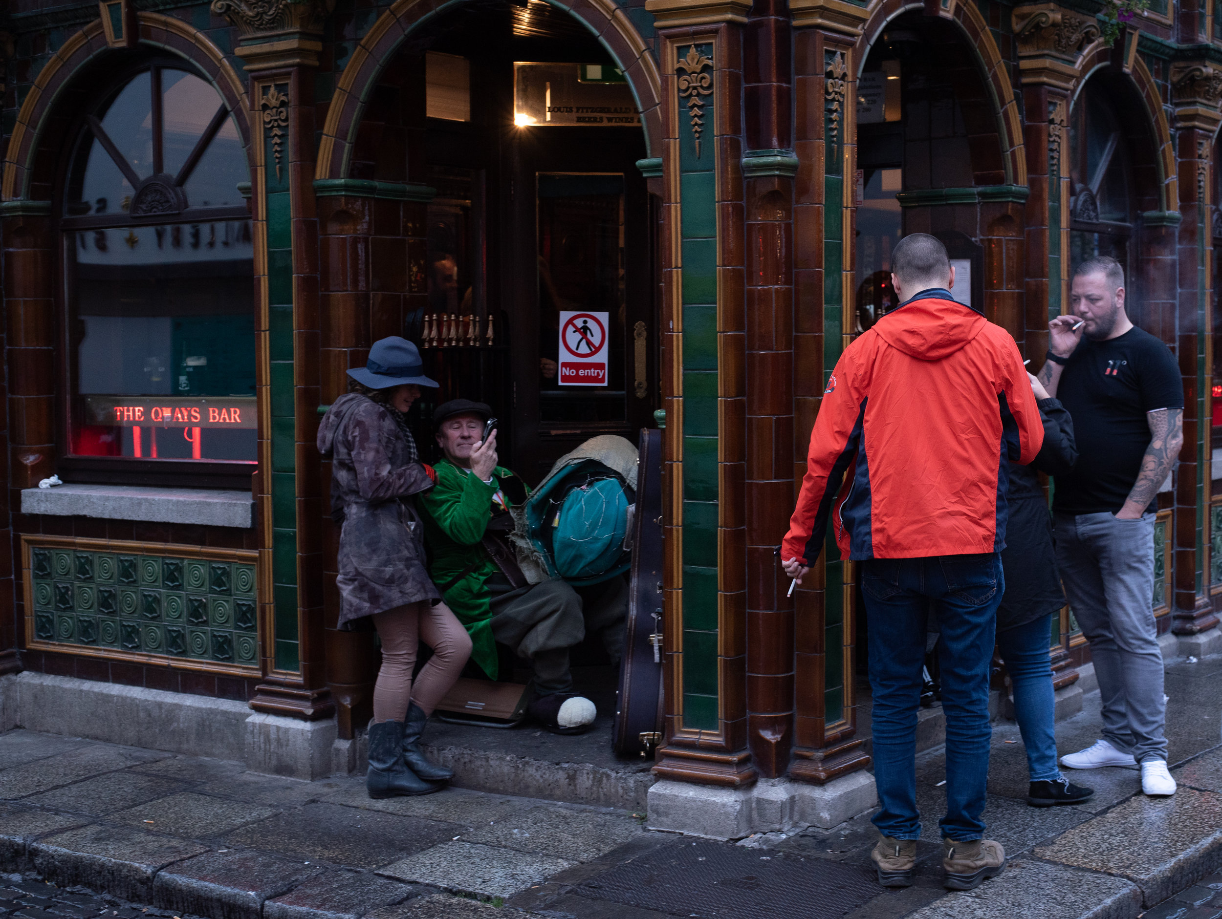 Temple Bar Corner   Dublin, Ireland